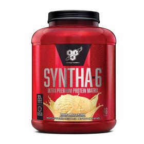신타6 오리지널 바닐라 아이스 크림 프로틴 47 서빙 유청 단백질 보충제 2.27 kg