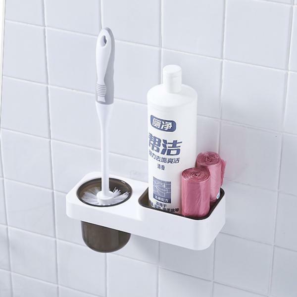 점착식 화장실 변기솔 세트 HY 상품이미지
