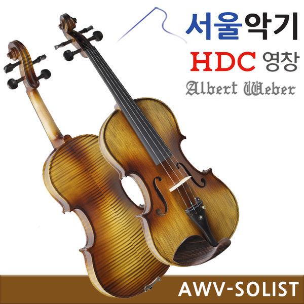AWV Solist 입문용 연습용 수제 바이올린 3/4 2019Best 상품이미지