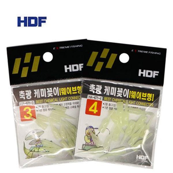 해동 HA-671 축광 케미꽂이 (웨이브형)민물/바다 상품이미지