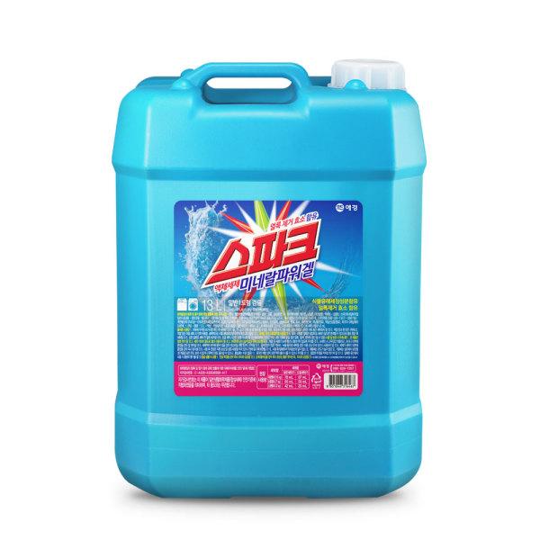 스파크 미네랄 대용량 액체세탁세제 13L /일반드럼겸용 상품이미지