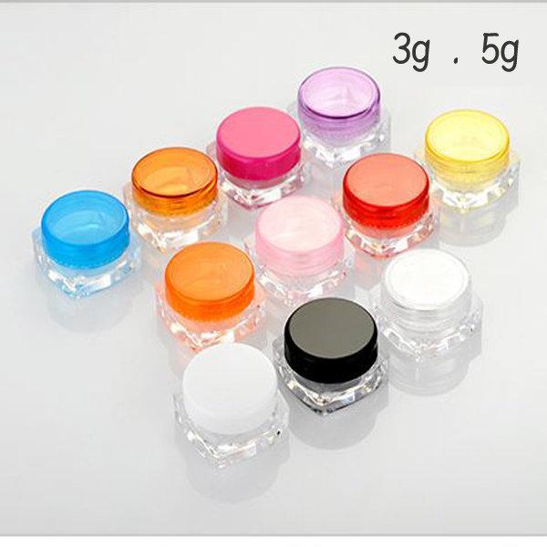크림용기 3g  5g 휴대용 화장품용기 립밤 화장품공병 상품이미지