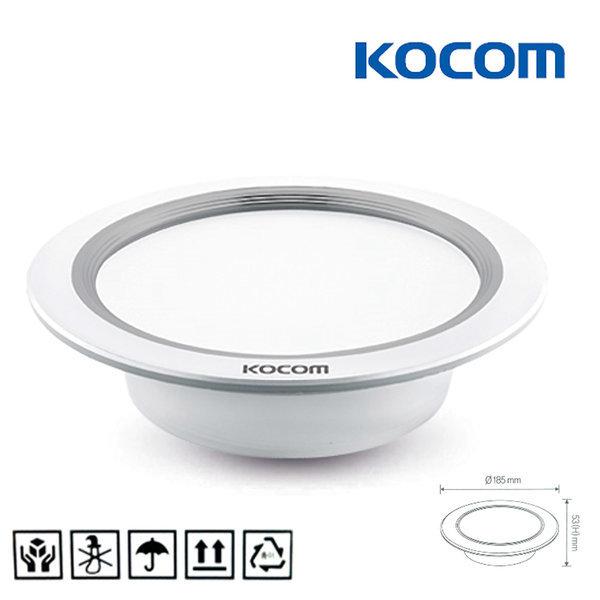 LED 방습 다운라이트 6인치 욕실 매입등 매립등 매장 상품이미지