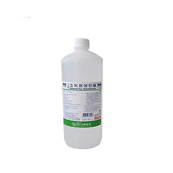그린 소독용에탄올 1LX2개/소독약/알콜/과수/소독제 상품이미지