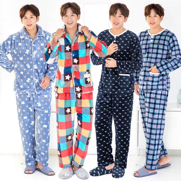 남성 수면잠옷14종~ /남성 겨울 잠옷/기모잠옷 상품이미지