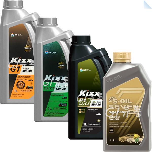 킥스파오 Kixx PAO G1 D1 세븐골드 1L 합성엔진오일 상품이미지
