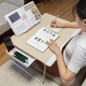 [스틸리]베드트레이G6/독서대/테이블/노트북거치대/좌식책상