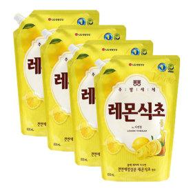 퐁퐁 레몬식초 1200ml 4개