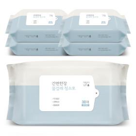 물걸레청소포 대형 리필 5팩(150매)