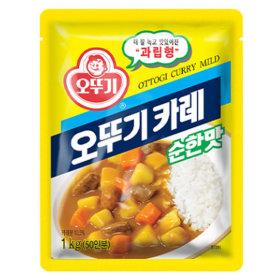 오뚜기 카레 분말 순한맛 1kg/분말카레/대용량/식자재