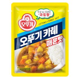 오뚜기 카레 매운맛 1kg /분말카레/대용량/식자재