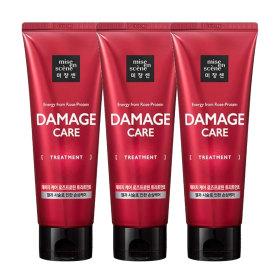 mise en scene Damage Care Rose Protein Treatment 180ml 3pcs
