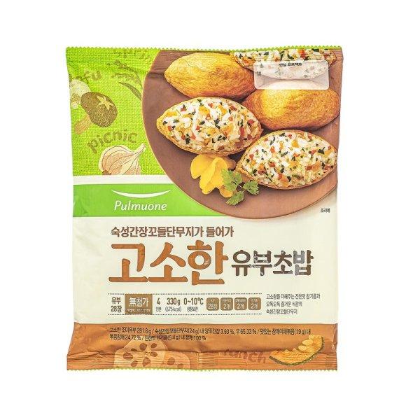 풀무원_고소한유부초밥_330G 상품이미지