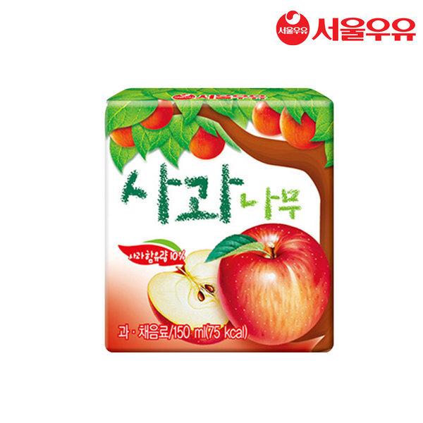 서울우유 사과나무 150mlx24입 상품이미지