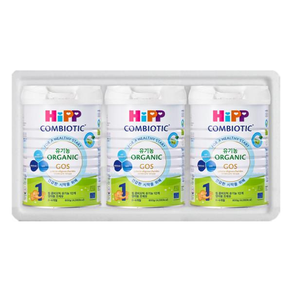 HiPP 유기농 콤비오틱 1단계 X 3캔 힙분유/수입분유 상품이미지
