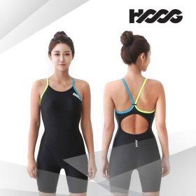 실내 수영 강습용 패션 여성 반전신 3부 일반 수영복