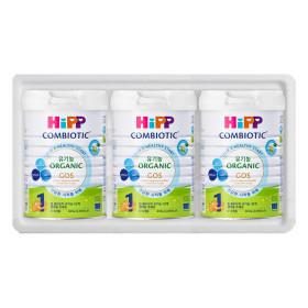 힙분유 무전분 HiPP 유기농 콤비오틱 1단계 800g X 3캔