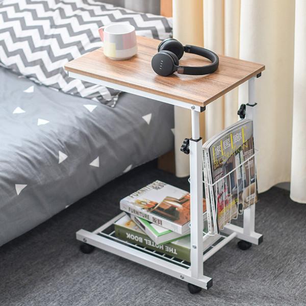 OMT 원목 이동식 수납 사이드테이블 거실 소파 ONA-C6 상품이미지