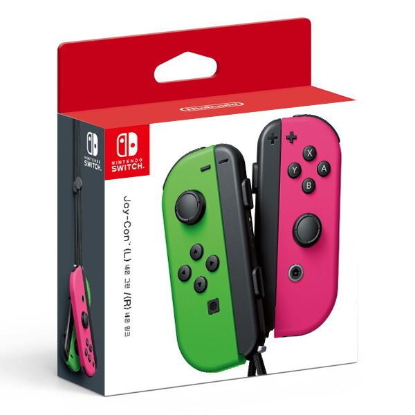 닌텐도  스위치 주변기기 조이콘(L) 네온 그린/(R) 네온 핑크  세트 상품이미지
