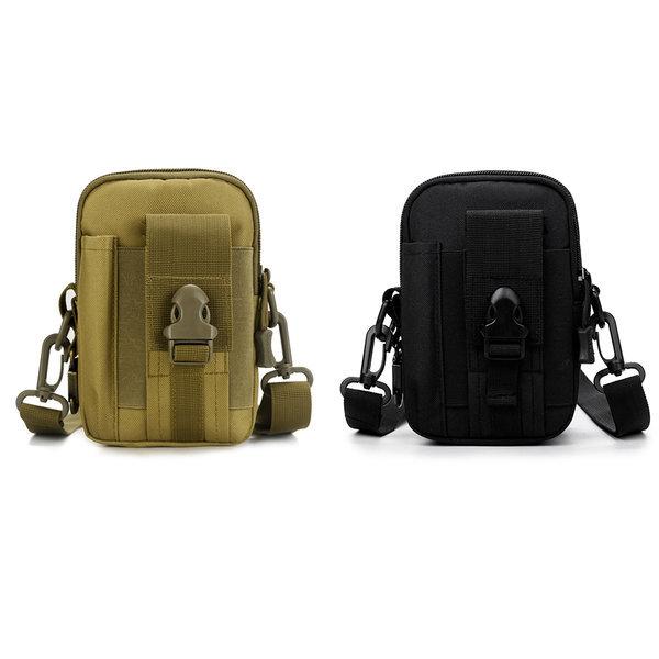 밀리터리 힙색 허리 가방 크로스백 전술 벨트 파우치 상품이미지