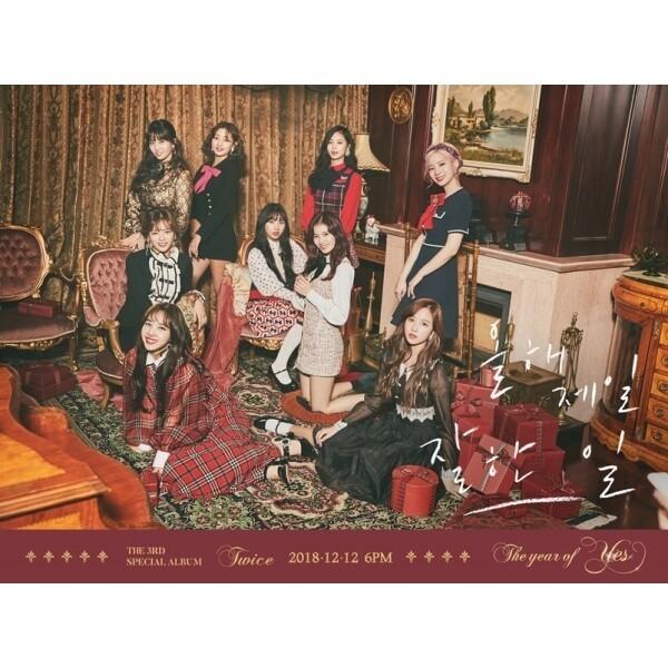 트와이스 (Twice) - The year of Yes (3rd Special Album) 포토카드랜덤3매+QR코드카드+스티커 상품이미지