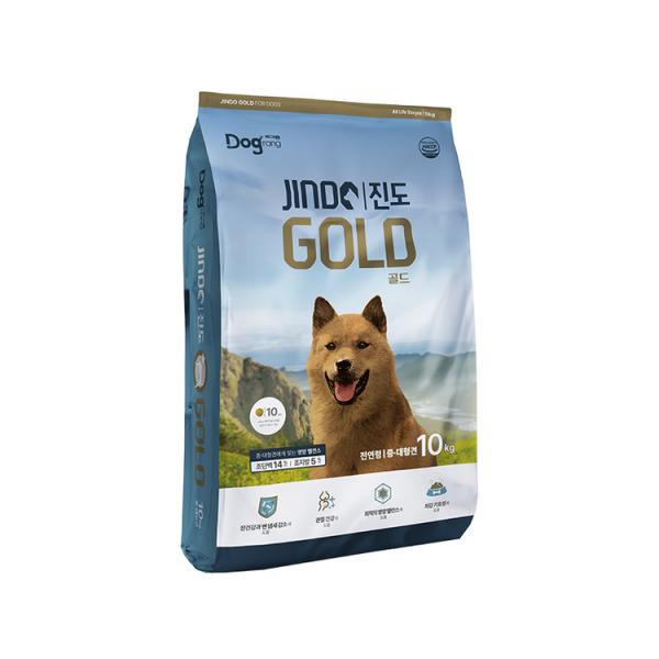 도그랑 진도 골드 10kg 강아지사료 대형 진돗개 사료 상품이미지