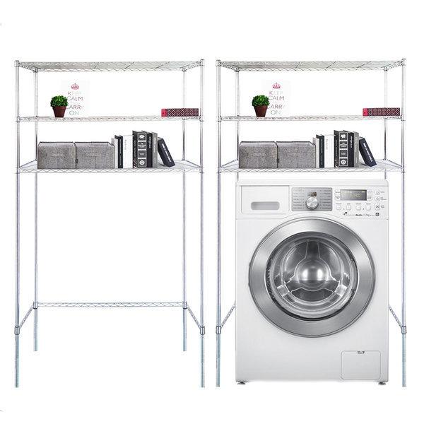 국산세탁기메탈선반3단수납장900 바구니형 김치냉장고 상품이미지