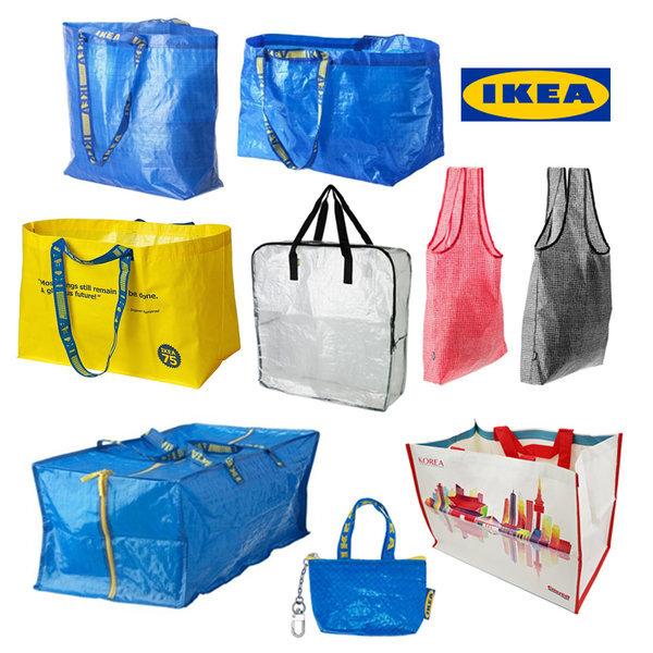 IKEA 정품 다용도 가방 FRAKTA 장바구니 휴대 쇼핑백 상품이미지