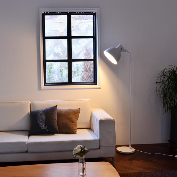 샵 장스탠드 (화이트)+LED 전구색 상품이미지