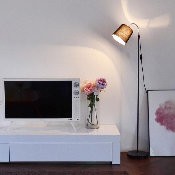 비기닝 장스탠드(블랙) + LED 전구색 포함 상품이미지