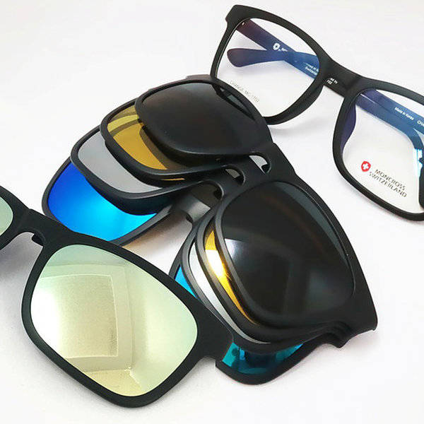 몽크로스 체인지 선글라스 커버 렌즈 프레임 세트 상품이미지