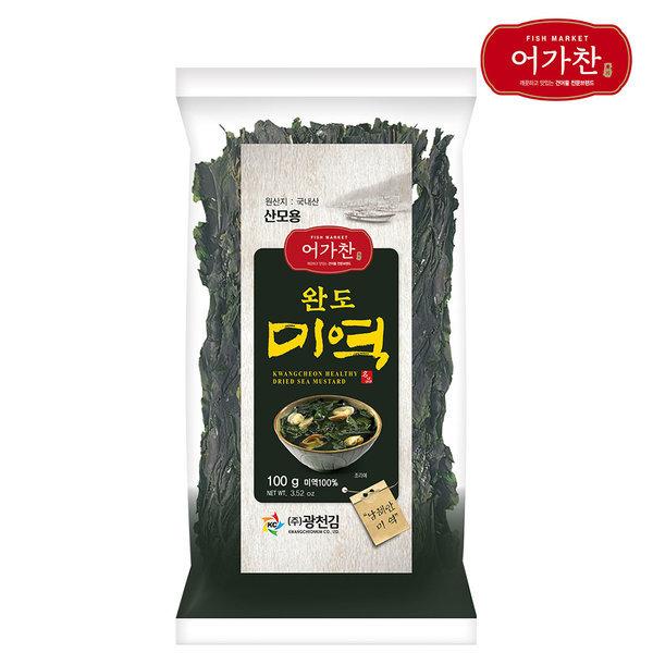 소문난 광천김의 완도 햇 미역/마른미역 100g 상품이미지