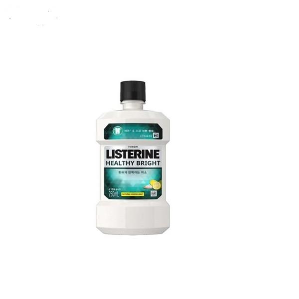 리스테린 헬씨브라이트750mlX2개3개/250ml/구강청결제 상품이미지