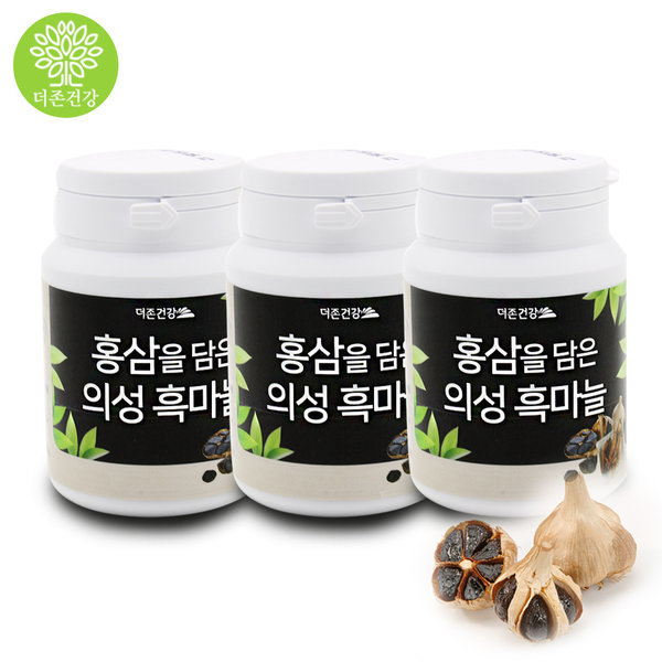 더존 홍삼담은 의성 흑마늘환 마늘환 60g X 3통 상품이미지