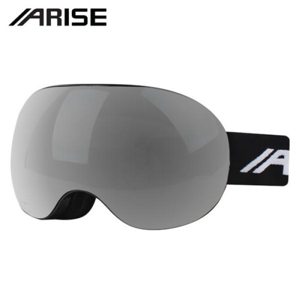 (AK몰)(스포츠기타(아웃도어))(어라이즈)(AWEA506BKSL) 안경병용 더블 미러렌즈 스키/보드고글 상품이미지