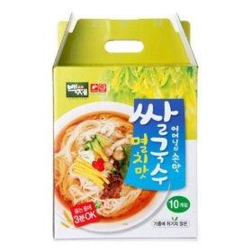 백제 멸치맛 쌀국수 선물세트 92g X 10개
