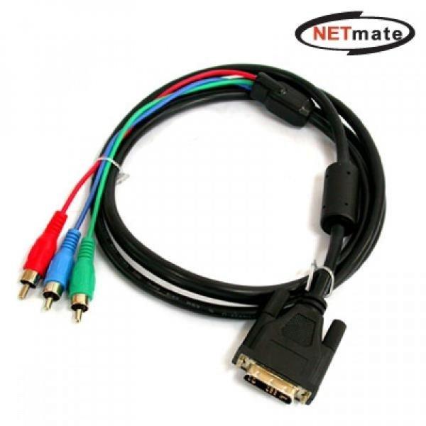 NM DVI to 컴퍼넌트 케이블 1.8m 상품이미지