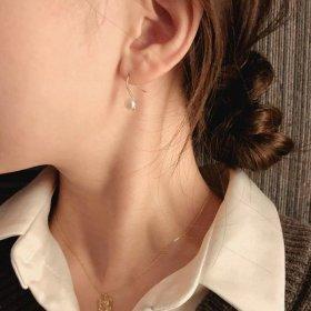 Lebit pearl earrings