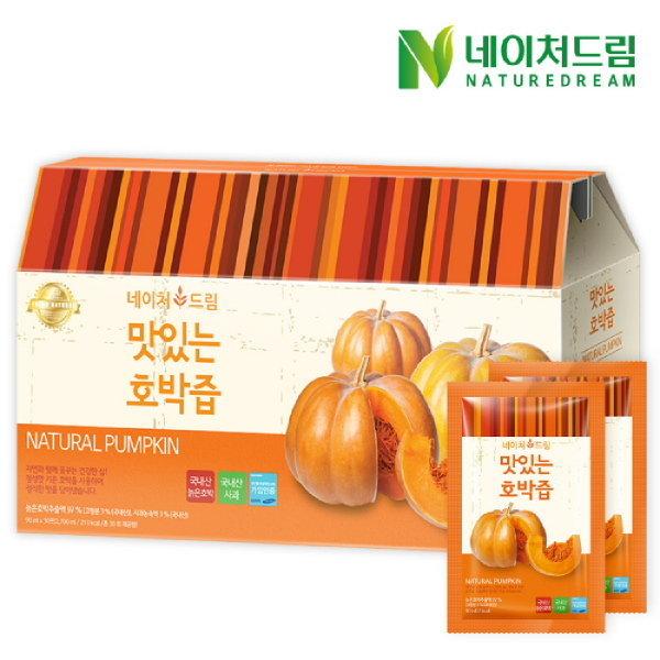 네이처드림 맛있는 호박즙 (90ml   30포) 상품이미지