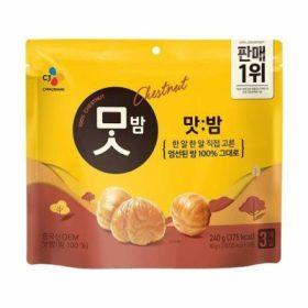 CJ 맛밤 패밀리팩 80G 3입