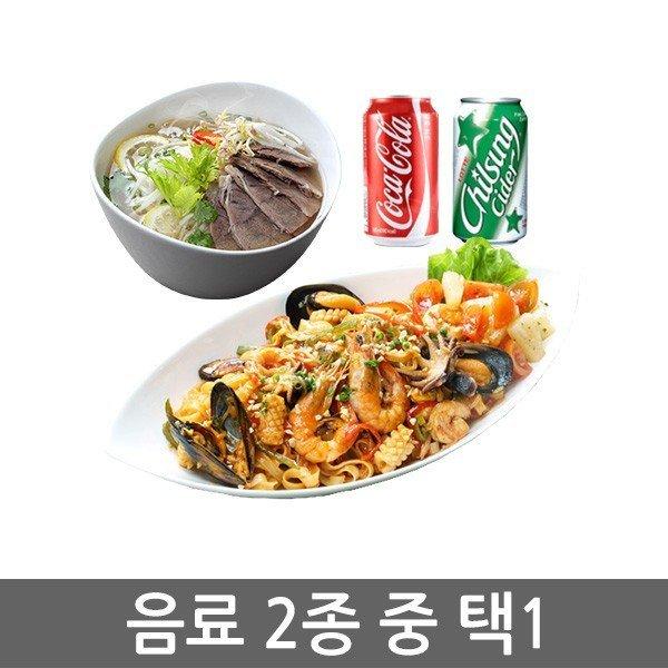 (호아빈오리진) 양지쌀국수L+팟타이+음료1 상품이미지
