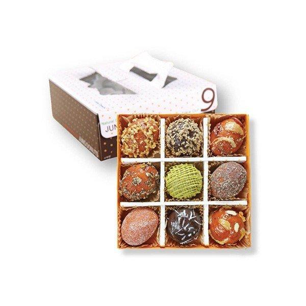 (정도너츠) 찹쌀도너츠 9개 box(선물용) 상품이미지