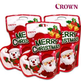 크라운 산타양말선물세트 x 3개