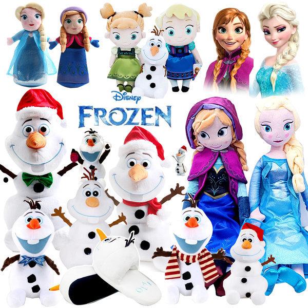 겨울왕국 울라프 26cm 눈사람 크리스마스 산타 인형 상품이미지