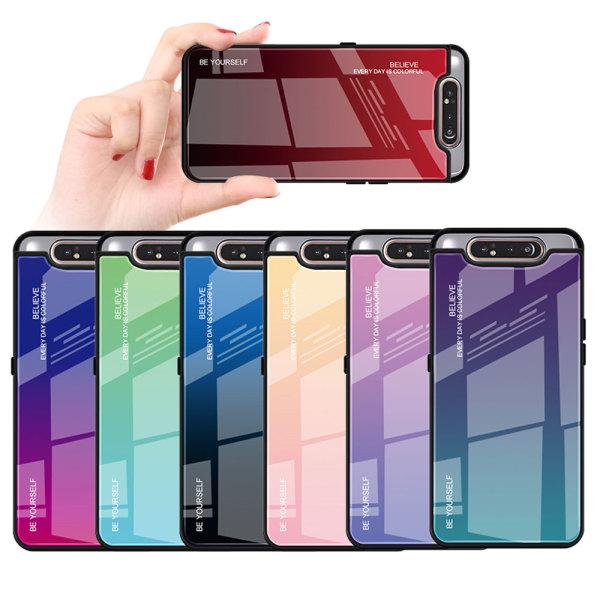 LG G7케이스 독특한 그라데이션 강화유리 폰케이스 상품이미지