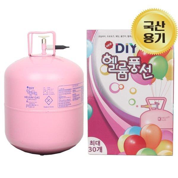 (파티스토리) DIY 헬륨풍선 30개용 생일 파티 헬륨가스 상품이미지