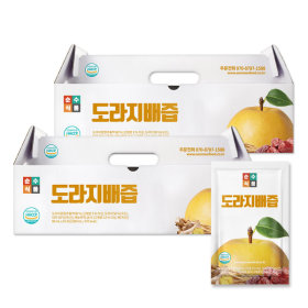 SSF Bellflower Pear Juice 2 boxes (50 pouches) Balloon Flower Squeeze