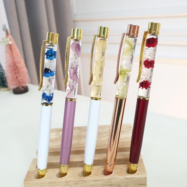 하바리움 볼펜 만들기 DIY 다양한 꽃으로 장식 상품이미지