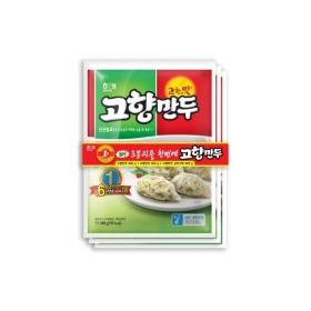 해태 고향만두기획(고기+김치) 400G 3