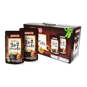검은콩호두앤아몬드 파우치 두유 190ml 30팩 건강음료